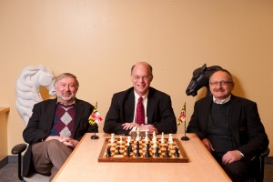 GM Sam Palatnik (Coach), Dr. Alan Sherman (Director), Igor Epshteyn (Coach)
